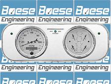 37-38 Chevy Car Billet Aluminum Gauge Panel Dash Insert Instrument Cluster