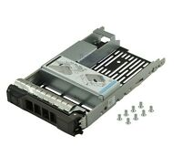 "Dell 2.5""to 3.5""Hard Drive Tray Caddy Power Edge KG1CH+9W8C4 for R430 R530 R730"