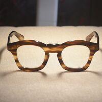 Retro Japan handmade italy acetate eyeglasses frame womens Rx optical glasses