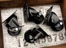 4 x Möbel Rollen Gussräder Metall Retro Vintage Industriestyle Gusseisen Design