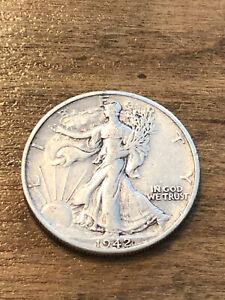 1942D Walking Liberty Half Dollar VF
