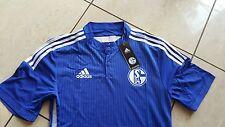Adidas Schalke 04 neue Triko blau/weiß  Größe 9 (L/XL) Wünschbeflockung möglich