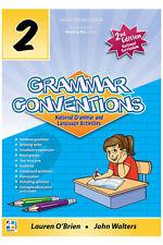 Grammar Conventions - Year 2