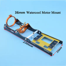 B36 water cool brushless motor mount with T bar clamp & fiber plate rc boat 1438