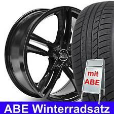 """18"""" ABE MAM A1 AluFelge Schwarz Winterradsatz 225/40 für Mercedes CLK-Klasse 208"""