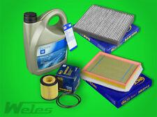 Paquete De Servicio Filtro + ORIGINAL GM ACEITE DE MOTOR 5w30 OPEL ZAFIRA B 1,9