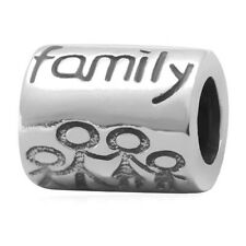 Family Ties Charm Bead 925 Sterling Silver