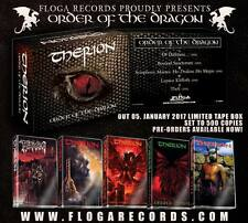 Therion - Order of the Dragon, 1991 - 1996 (Swe), Tape Box