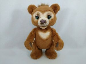 FurReal Cubby the Curious Bear Interactive Plush Toy by Hasbro Free Postage