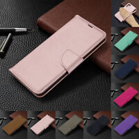 For Samsung Galaxy A51 / A71 Magnetic Leather Flip Wallet Card Stand Case Cover