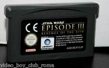 STAR WARS EPISODE III REVENGE OF THE SITH GAME USED ADVANCE ED IT CARTUCCIA FR1