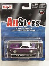 MAISTO ALLSTARS SERIES 13 1970 DODGE CHALLENGER R/T
