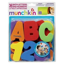Kids Bathing Toys Munchkin Baby Bath Letters And Numbers Children Bath Toy Set