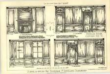 1907 Panelled Rooms Clifford's Inn Henry Thompson Scholarship