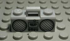 Lego Figur Zubehör Radio Ghettoblaster new Grau Schwarz                   (1162)