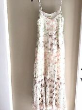 Ralph Lauren Denim & Supply Patchwork floral  Long cotton Maxi Dress M NEW