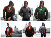 Hot Superman Green Lantern Hoodie Shazam Hooded Sweatshirt Batman Jacket Outwear