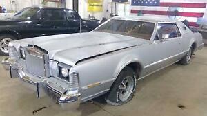 74-79 Lincoln Mark Driver Left Front Power Window Regulator/Motor OEM