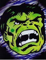 The Hulk cartoon marvel comic movie decor wall art print.
