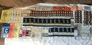 Lot (90) Original Ticket Stubs 1984-2013 Yankees Devils US Open USA Soccer WWE +