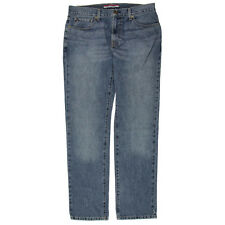 NEW Mens Tommy Hilfiger Medium Wash Straight Fit Blue Jeans Size W40 L30