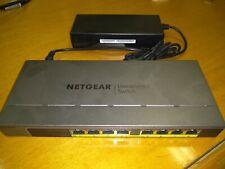 Netgear GS108PP Switch 8 x 10/100/1000 (PoE+) desktop rack-mounta GS108PP-100EUS