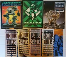 Battletech Bundle: Compendium, Game of Armored Combat, Record Sheets Vol 1-4 & 6