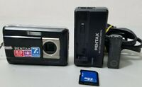 PENTAX Pentax Optio Z10 8.0MP Digital Camera - Black *VERY GOOD/TESTED*