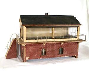 AC1963: Hugar or similar Gauge1 Holz Signal Hütte
