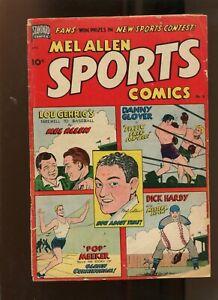 MEL ALLEN SPORTS COMICS #5 (3.5) STANDARD COMICS! 1950