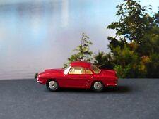 Corgi Toys 222 Renault Floride red-maroon