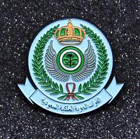 Pin ROYAL SAUDI AIR FORCE insignia memorabilia RSAF DMG metal pin 1.5 inch/ 38mm