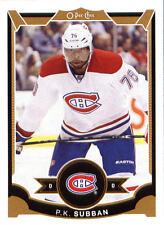 2015-16 O-PEE-CHEE MONTREAL CANADIENS P.K SUBBAN HOCKEY CARD NHL