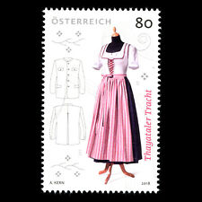 "Austria 2018 -  Traditional Costumes ""Thayatal"" - MNH"