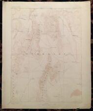 USGS Topographic Map 1893 Data DISASTER QUADRANGLE,  NEVADA