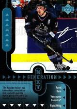 1998-99 Upper Deck Generation Next #30 Sergei Samsonov, Pavel Bure