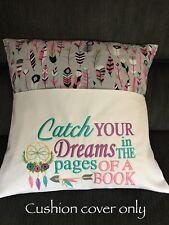 Childrens Cushion Reading Book iPad Pocket Cushion Cover Kids Birthday Gift