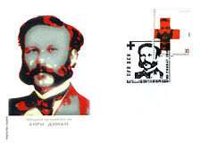 Republic of North Macedonia/2010/FDC/Red Cross founder Henry Dunant
