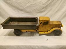 Rare Vintage Original Keystone SteelCraft Dump Truck 1920s Metal With Headlights