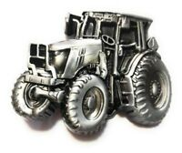 ♈ Raised Graphics   ♈ Antique Silver Color tractor mens Belt Buckle Country Farm