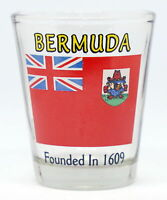 BERMUDA FLAG SHOT GLASS SHOTGLASS
