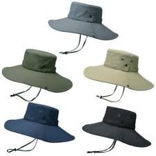 Women Men Sun Hat Wide Brim Bucket Hats Outdoor Fishing Hiking Protection KhArL