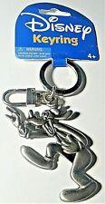 Disney Goofy Silver Pewter Key Chain Key Ring Keychain