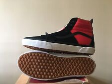 Vans The North Face Sk8 Hi Red Black Shoes Men's 11 Black Bred