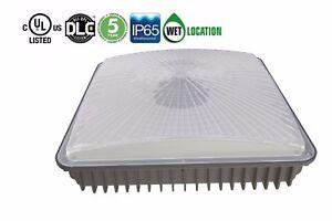 60W Led Canopy Light,150W HPS/MH Bulbs Equivalent,6000Lm 6000K IP65