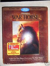 War Horse (Blu-ray/DVD, 2012, 4-Disc Set, Includes Digital Copy) W/Slipcover