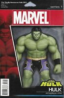 Totally Awesome Hulk Comic Issue 1 Limited Action Figure Variant Modern Age 2016