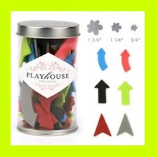 AMERICAN CRAFTS PLAYHOUSE Lg Container Colored Foam ARROWS 65 Pc Scrapbooking