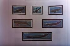 SWA SET 6  STAMPS WHALES SOUTH WEST AFRICA