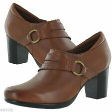 Clarks High (3 in. to 4.5 in.) Leather Heels for Women